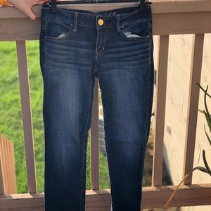 American Eagle super Strech jeggings